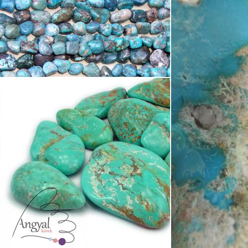 Türkiz ásvány az AngyalKovek.hu oldalon