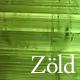 Zöld színű ásványok az AngyalKövek oldalán