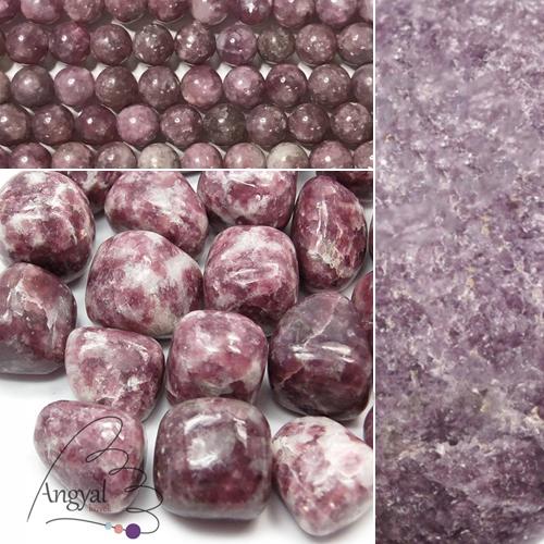 Lepidolit ásvány az AngyalKovek.hu oldalon