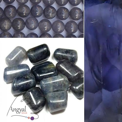 Iolit ásvány gyógyhatása - iolit ékszerek az AngyalKövek oldalán