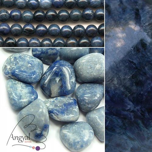 Kékkvarc ásvány az AngyalKovek.hu oldalon