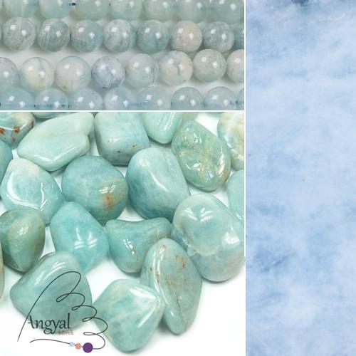 Akvamarin ásvány és formái az AngyalKovek.hu oldalon