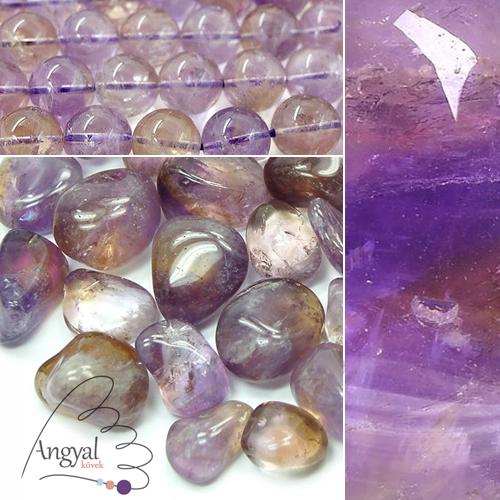 Ametrin ásvány és formái az AngyalKovek.hu oldalon