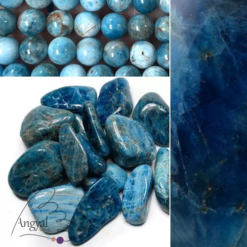 Apatit ásvány és formái az AngyalKovek.hu oldalon