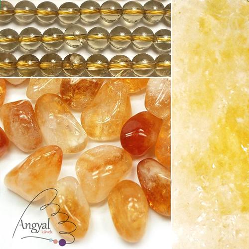 Citrin ásvány formái az AngyalKovek.hu oldalon