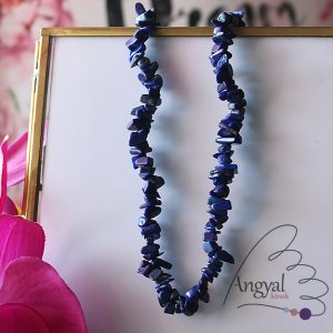 Lápisz lazuli szemcse ásvány nyaklánc