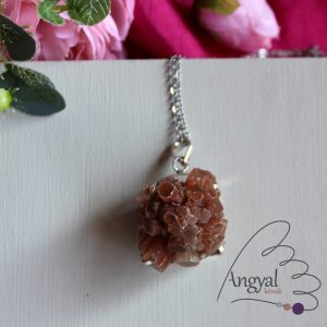 Aragonit kristály medál