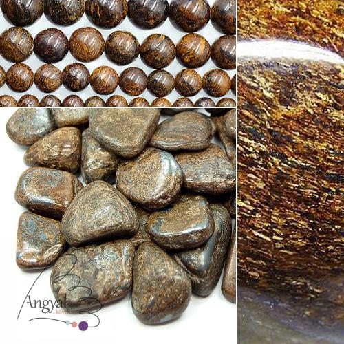 Bronzit ásvány gyógyhatása -bronzit ékszerek az AngyalKövek oldalán