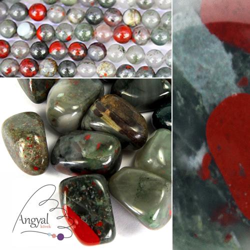 Heliotróp (afrikai vérkő) ásvány az AngyalKovek.hu oldalon