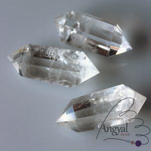 Hegyikristály csiszolt kristály kétcsúcs