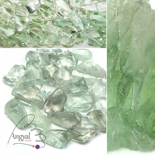 Praziolit (zöld ametiszt) ásvány az AngyalKövek.hu kínálatában