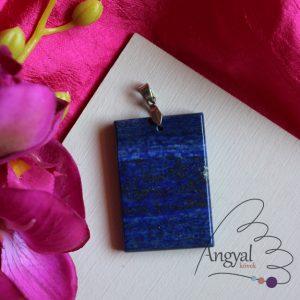 Lápisz lazuli ásvány medál